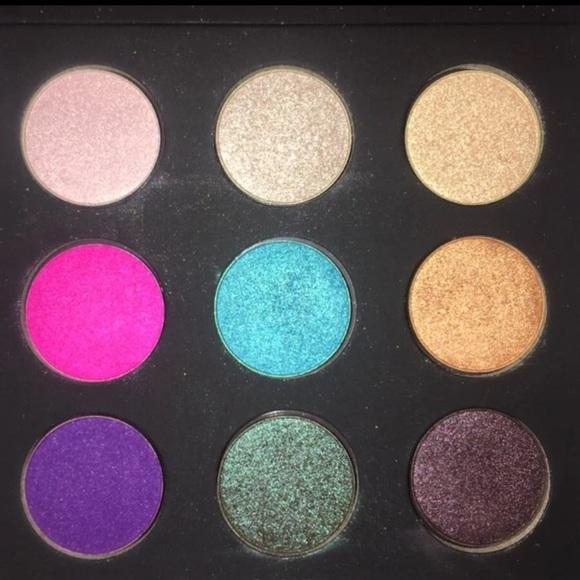 Glitter eyeshadow Pallete. NWT. Makeup Forever